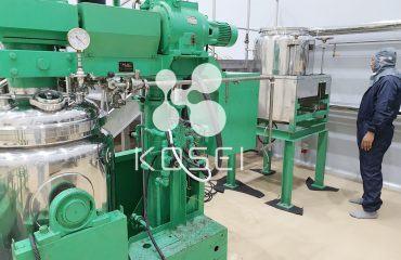 Lắp đặt hệ thống máy móc tại nhà máy mỹ phẩm KOSEI – Cập nhật 23/09/2020
